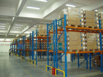 Economical Selective Industrial Pallet Racks Customized For Palletised Products Storage